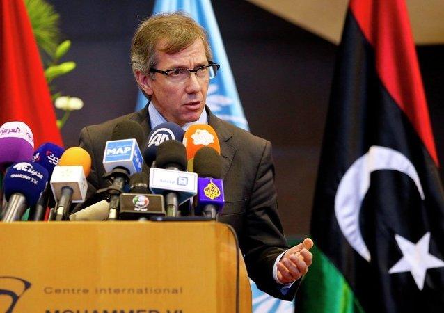 Bernardino Leon, enviado especial de la ONU para Libia