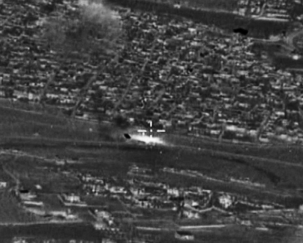 Ataques de las Fuerzas rusas Aeroespaciales contra el Estado Islámico