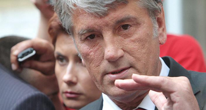 Víctor Yúschenko, el ex-presidente de Ucrania