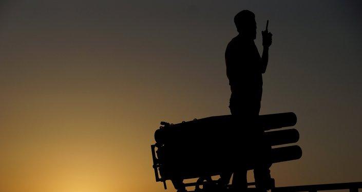 Combatiente del Ejército Libre Sirio