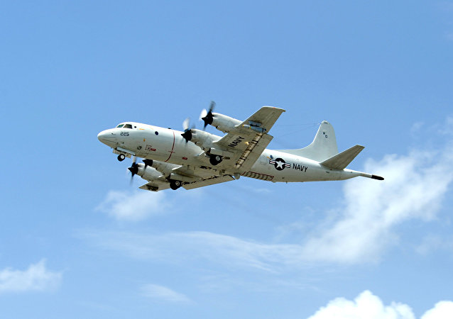 Avión de patrulla marítima P-3C Orion