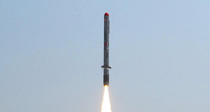 Resultado de imagen de misil crucero indio Nirbhay