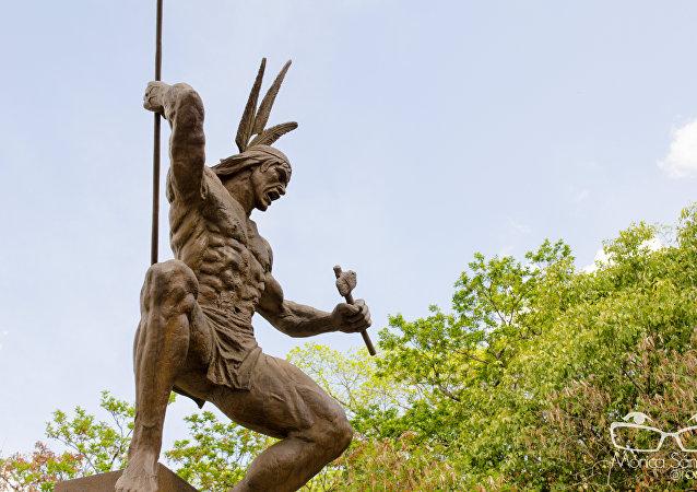 Un monumento a Guaicaipuro