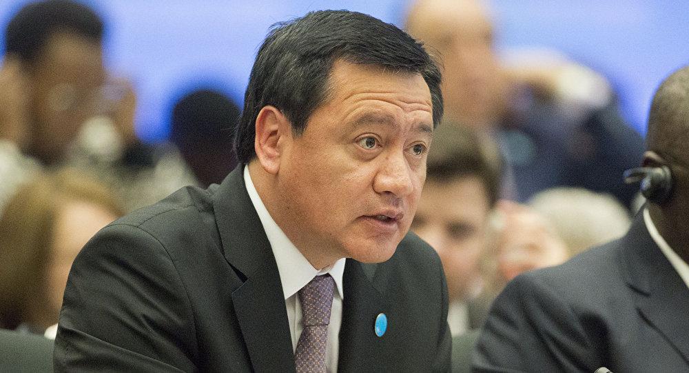 Miguel Ángel Osorio Chong, Ministro del Interior de México (archivo)