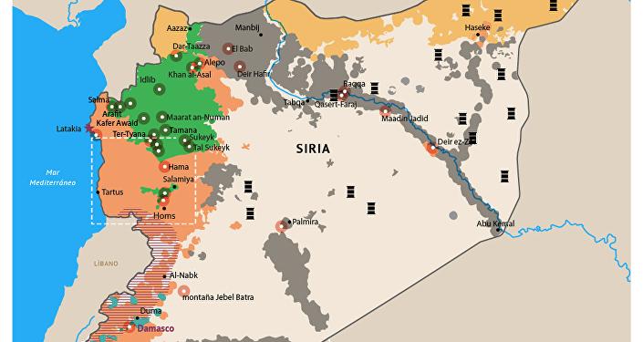 Ataques aéreos de Rusia contra objetivos del EI en Siria