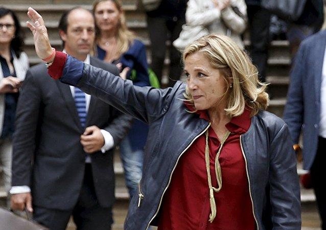 Joana Ortega, exvicepresidenta de Cataluña