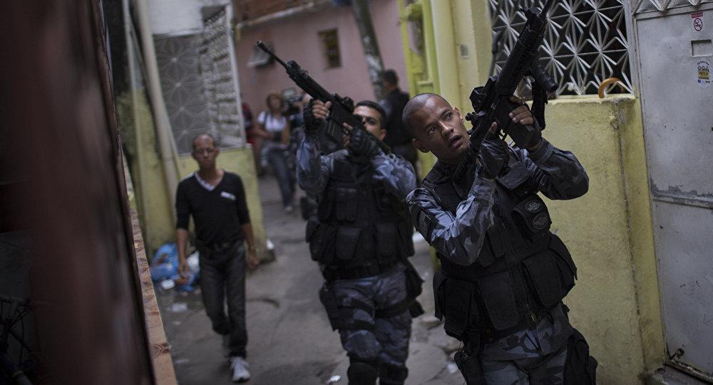 Policía Militar de Río de Janeiro, Brasil (archivo)