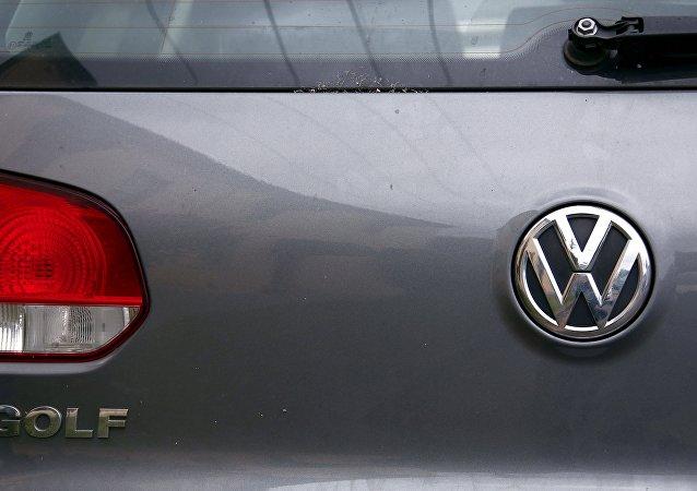 El logo de Volkswagen