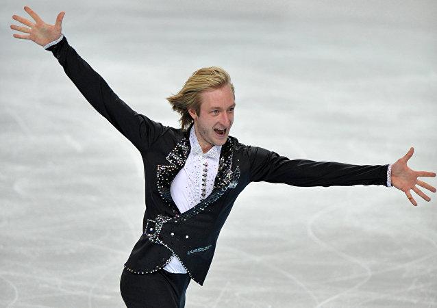 Evgueni Plúshenko, campeón olímpico de patinaje artístico