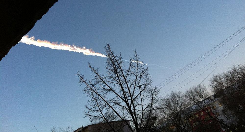 Caída de un meteorito en los Urales