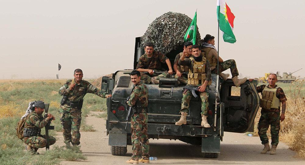 Militares kurdos (archivo)
