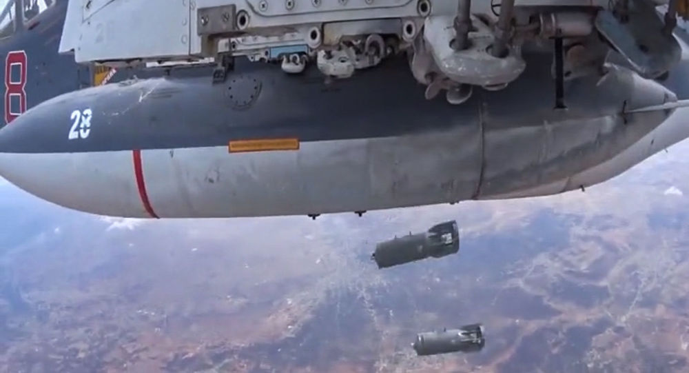 Aviación rusa bombardea las posiciones del Estado Islámico en Siria