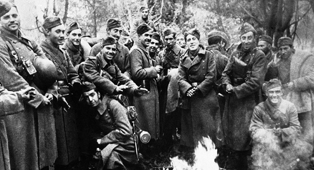 Soldados de la División Azul (archivo)