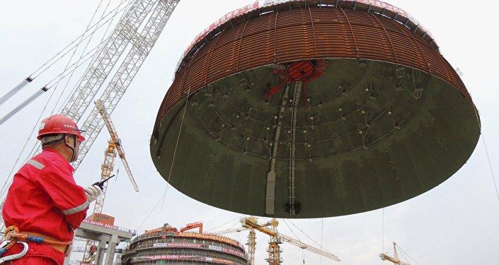 Una central nuclear de China