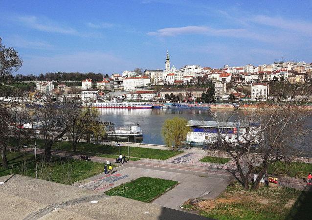 Belgrado, la capital de Serbia