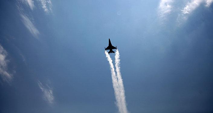 Avión de la Fuerza Aérea de Turquía