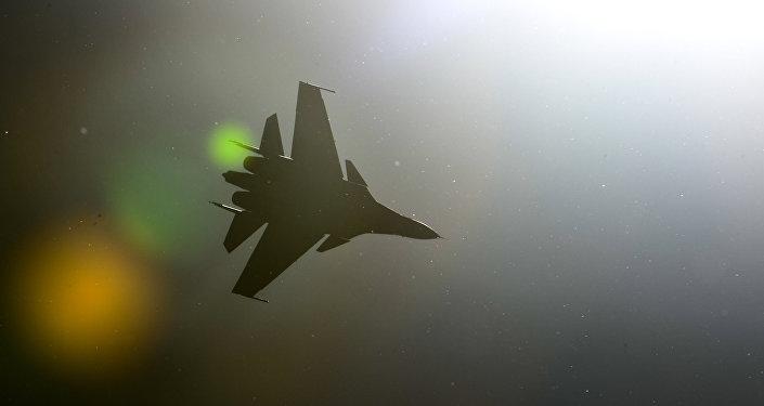 Caza Sukhoi Su-30SM