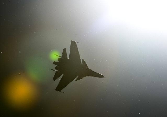 Caza Sukhoi Su-30SM (archivo)