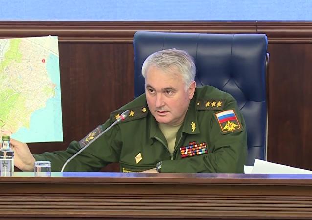 El coronel general Andréi Kartapólov, el jefe de la Dirección General de Operaciones del Estado Mayor de Rusia