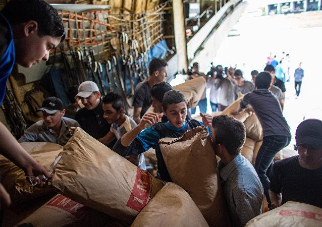 Ayuda humanitaria de Rusia a Siria