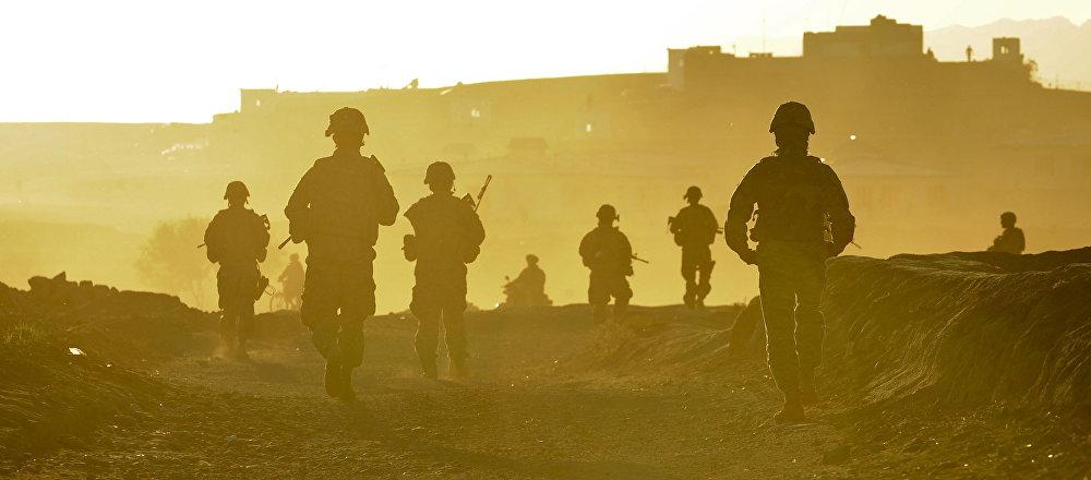 Soldados estadounidenses en Afganistán