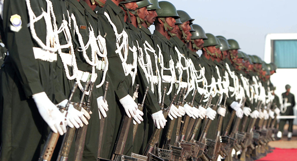 Soldados sudaníes