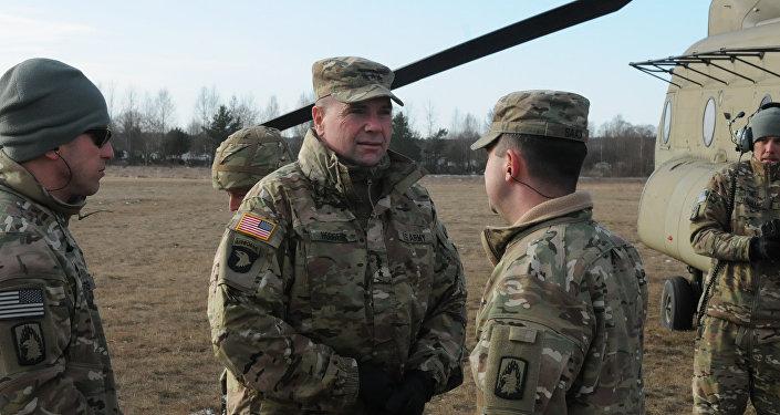 Teniente general Ben Hodges, excomandante del Ejército estadounidense en Europa