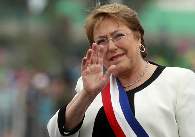 Michelle Bachelet, presidenta de Chile *archivo(