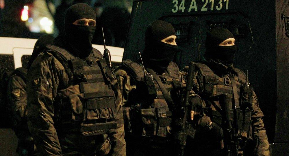 La policía de Estambul (archivo)