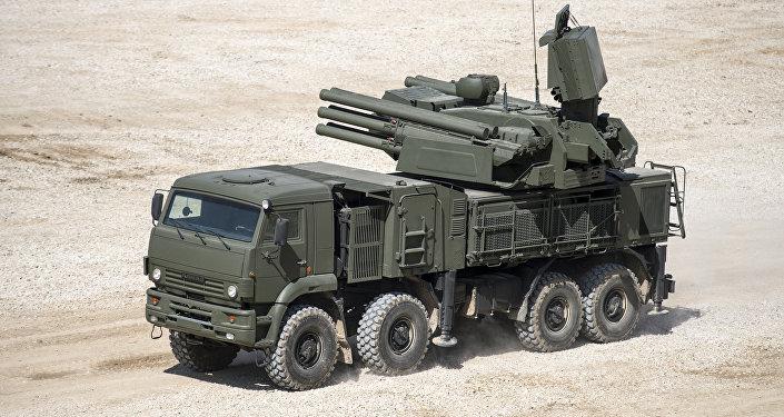 Sistema antiaéreo Pántsir