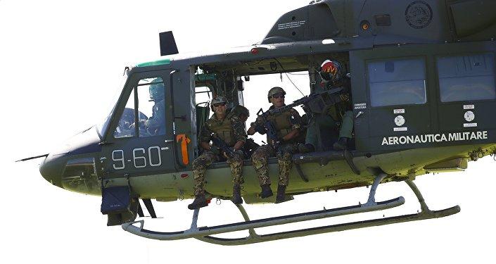 Ejercicios de la OTAN en Italia