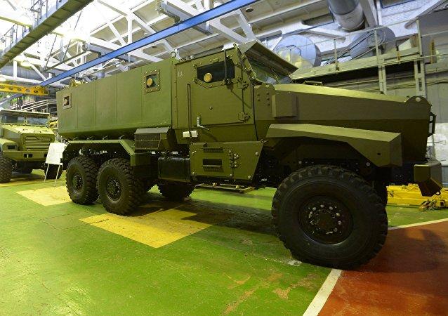 Ural-VV, blindado ruso