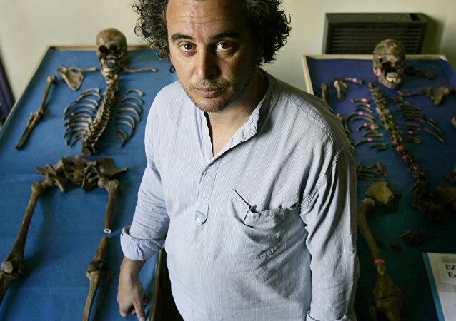Luis Fondebrider, director del Equipo Argentino de Antropología Forense (EAAF)