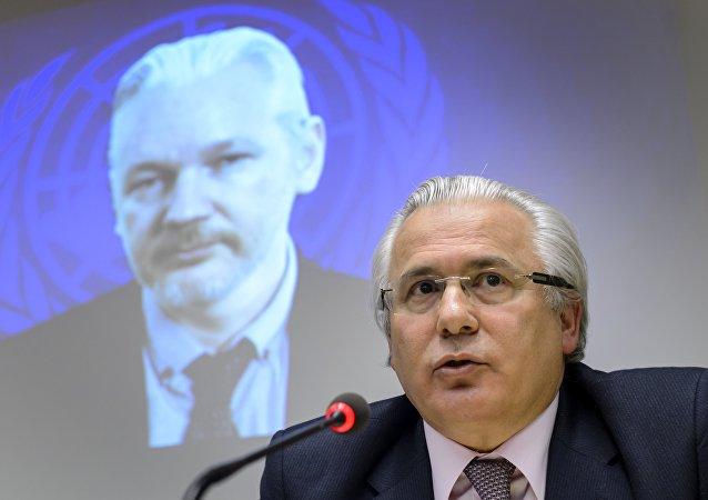 Baltasar Garzón, el abogado de Julian Assange