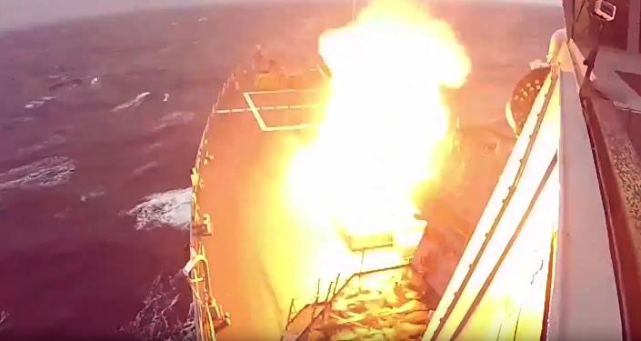Lanzamiento del misil interceptor SM-3 Block IA