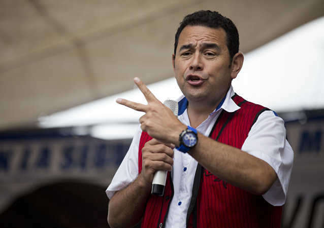 Jimmy Morales (archivo)