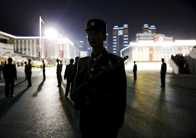 Militares norcoreanos