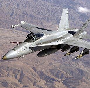 Avión F/A-18 estadounidense