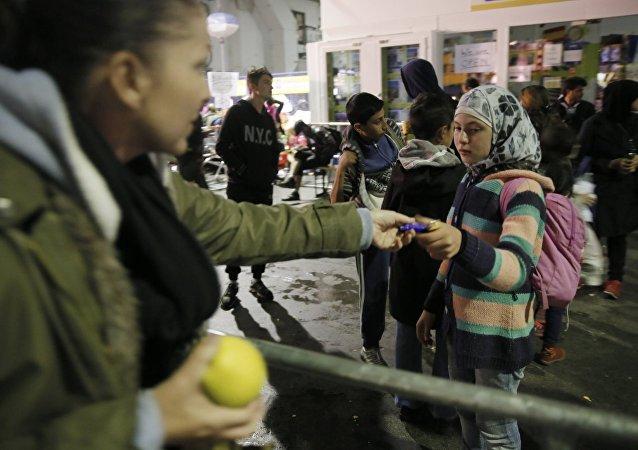 Refugiados en Múnich