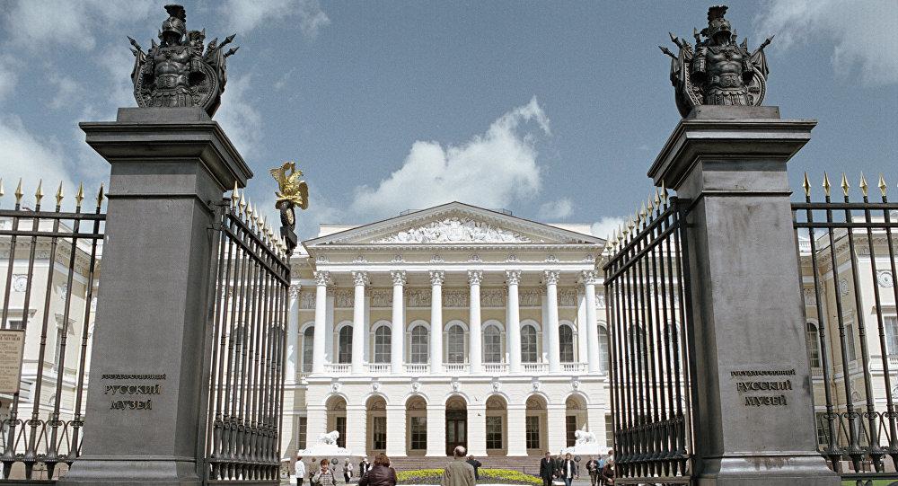 El Museo Estatal Ruso en San Petersburgo, Rusia