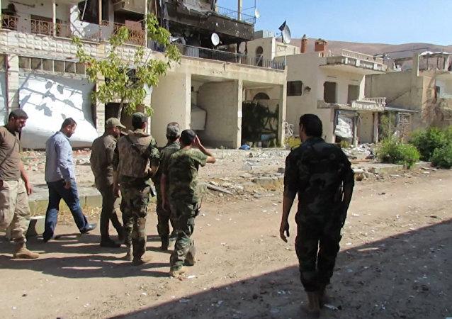 El Ejército sirio recupera una localidad en Damasco (archivo)