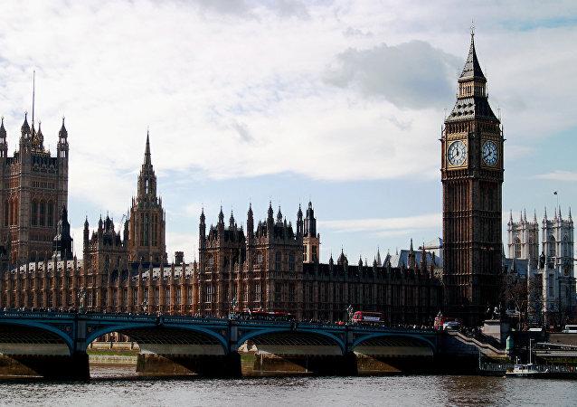 Palacio de Westminster, la sede del Parlamento del Reino Unido