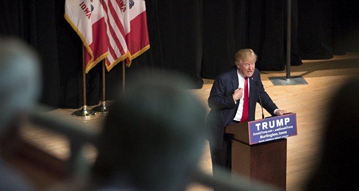 Donald Trump, candidato favorito a las primarias del Partido Republicano de EEUU
