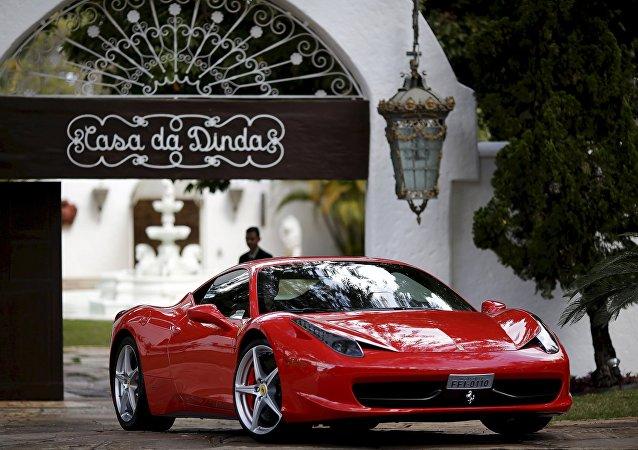 Ferrari de Fernando Collor de Mello