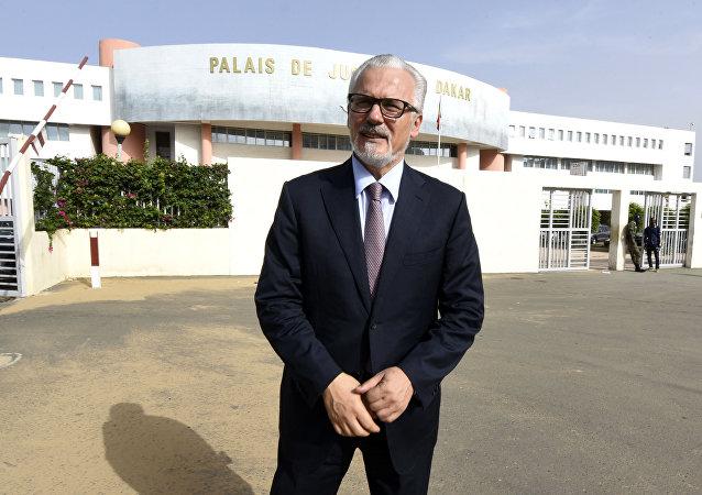 Baltasar Garzón, exjuez español y abogado defensor de Julian Assange (archivo)