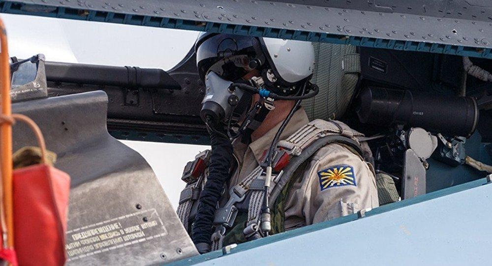 Piloto de las Fuerzas Aeroespaciales de Rusia