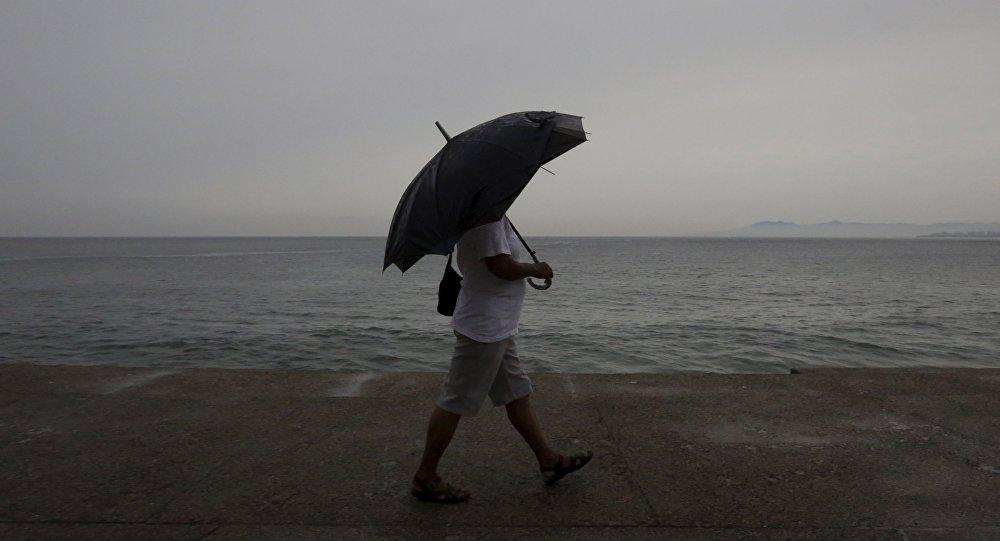 Ciclón que azota a Uruguay y Argentina