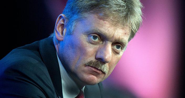 Dmitri Peskov, portavoz del presidente de Rusia