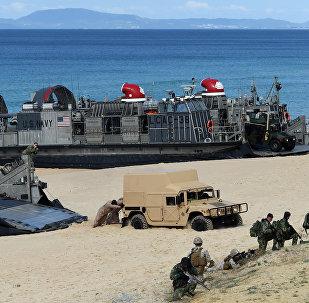 Las tropas de la OTAN en las costas de Portugal