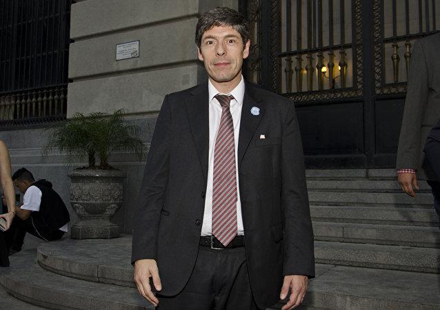 Juan Manuel Abal Medina, senador oficialista